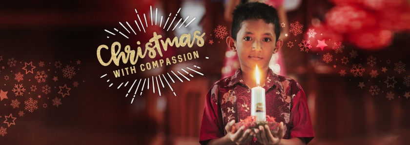 Christmas-themed Christmas celebrations Christmas with compassion