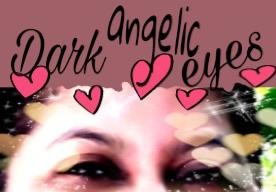 Poem, poetry, dark ,angelic .eyes