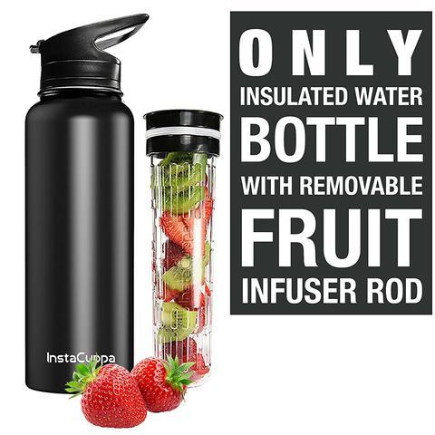 Instacuppa fruit infused bottle