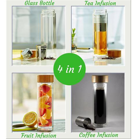 Instacuppa fruit infuser and green tea infuser