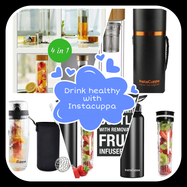 Instacuppa, fruit infuser,