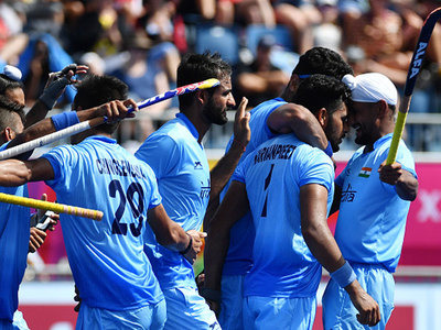 Indian hockey played in Commonwealth games