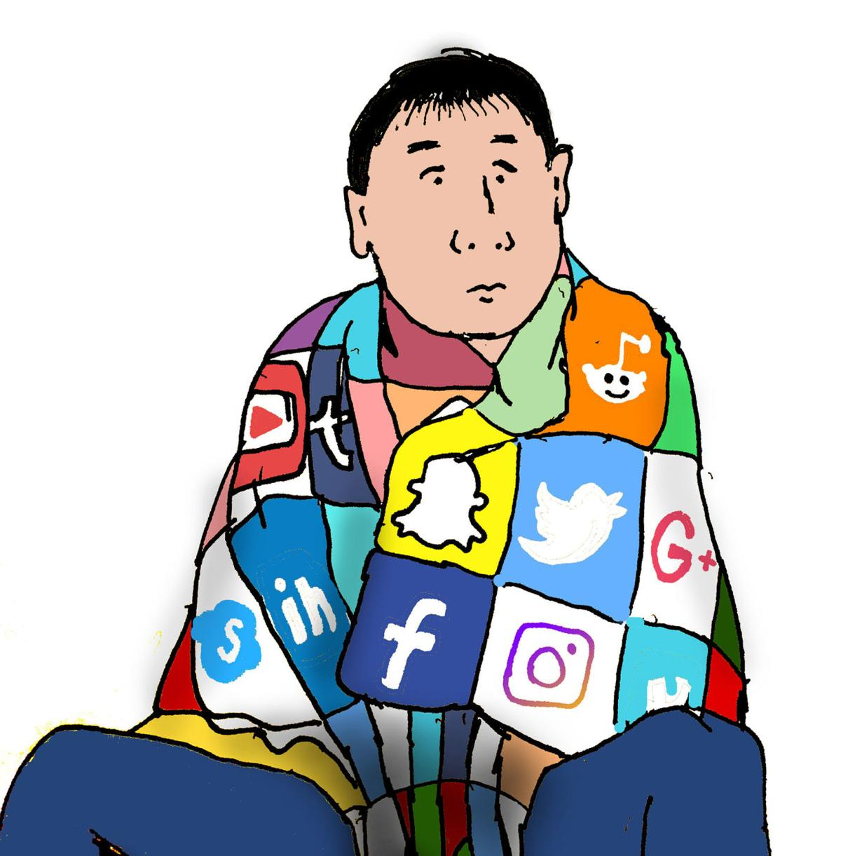 Social media obsession, social media obsession, journey of life continues