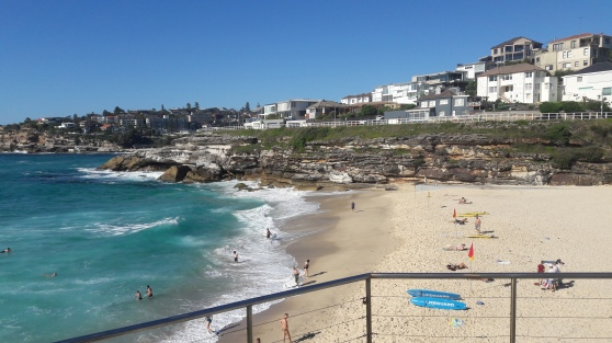 #journeysays, vacations in Sydney, beach walk , tamarama beach walk