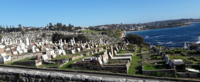 #journeysays, vacations in Sydney , beach walk, Waverly cementary
