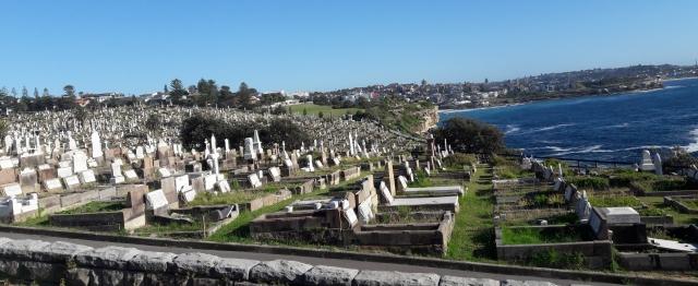 #journeysays, vacations in Sydney , beach walk, Waverly cementary