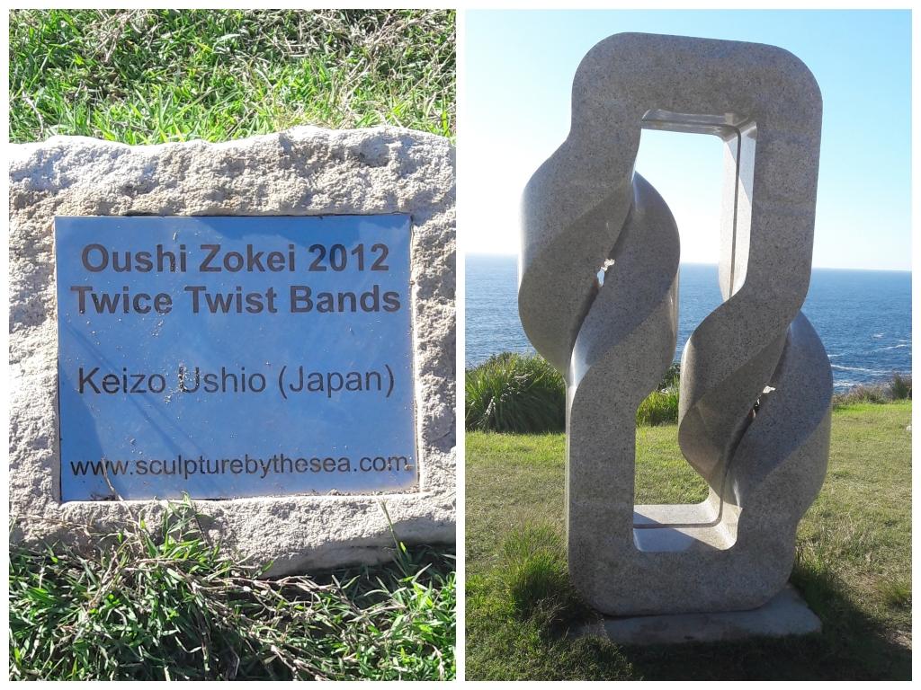 #journeysays, vacations in Sydney ,beach walk ,sculptures on the Sydney beach, Sydney travel