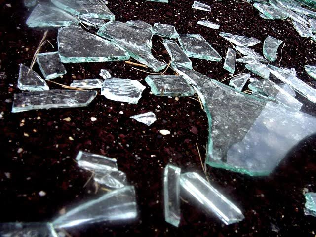 Broken pieces of glass , poem , positivity, poetry ,journey of life
