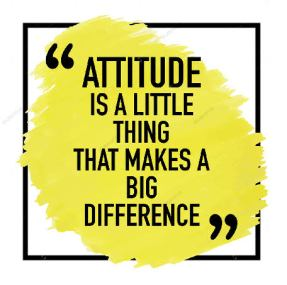Your attitude matters in your life – Journey of life Continues