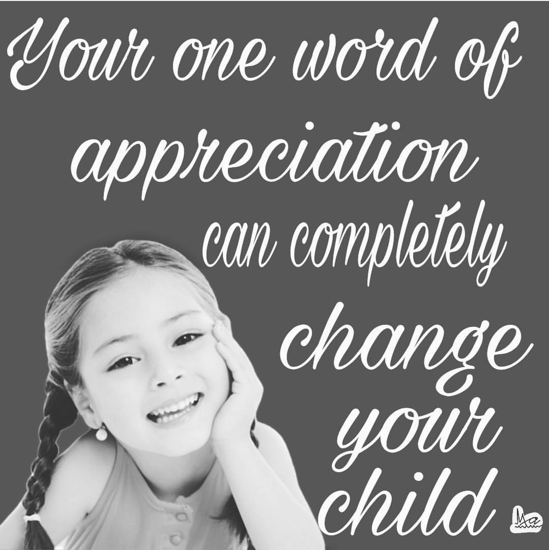 Education, motivation , appreciation , parenting