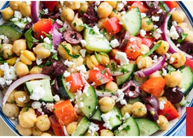 Mediterranean Chickpea salad, Diwali recipes , Indian recipes
