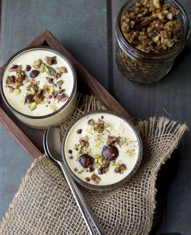 Gulabjamun custard, Diwali recipes,