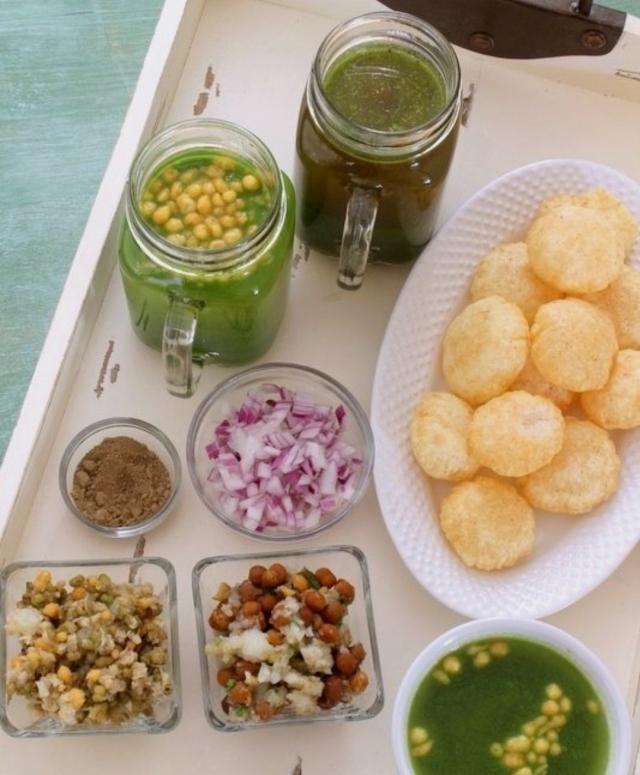 Pani puri, Indian snacks , Diwali snacks